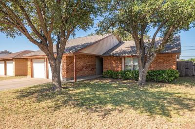 Odessa Single Family Home For Sale: 1839 Cody Place