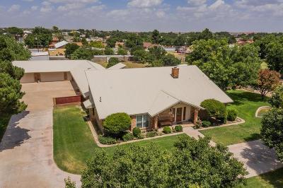 Odessa Single Family Home For Sale: 6100 Nevada