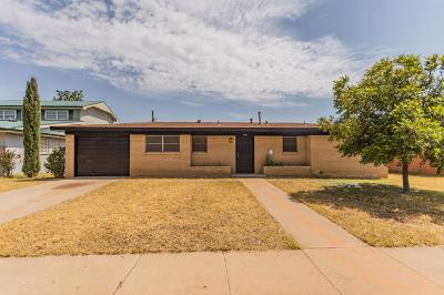 Odessa Single Family Home For Sale: 2106 Cumberland Rd