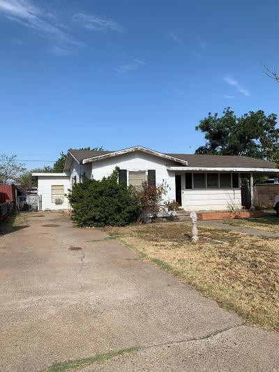 Odessa Single Family Home For Sale: 3723 Bowie Ave