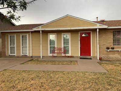 Odessa Single Family Home For Sale: 8718 Lamar Ave.