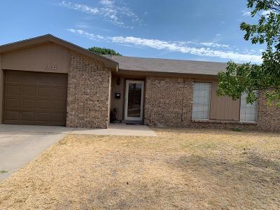 Odessa Single Family Home For Sale: 2604 Santa Monica