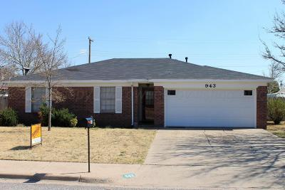 Single Family Home For Sale: 943 W Cinderella Dr