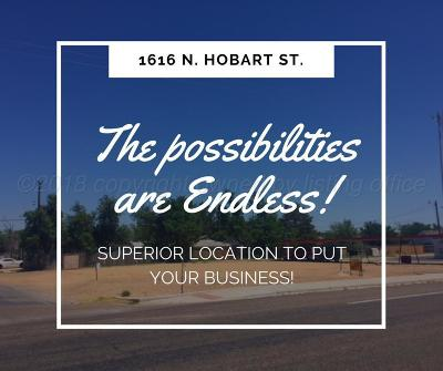 Commercial Lots & Land For Sale: 1616 N Hobart St