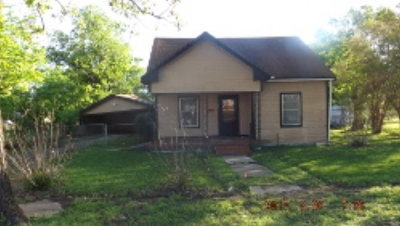 Groesbeck TX Single Family Home For Sale: $20,224