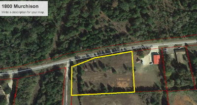 Anderson County Residential Lots & Land For Sale: 1800 Murchison
