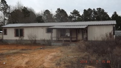 Slocum TX Single Family Home For Sale: $45,000