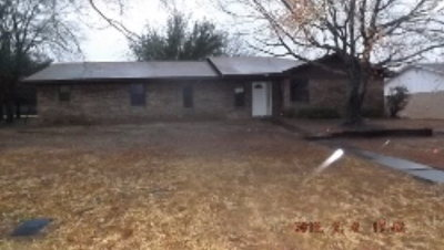 Fairfield TX Single Family Home For Sale: $127,000