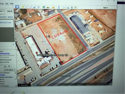 Odessa Residential Lots & Land For Sale: Business I-20
