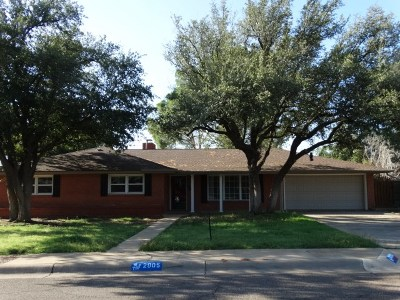 Midland Single Family Home For Sale: 2905 Douglas Dr