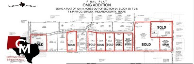 Midland Residential Lots & Land For Sale: 1701 E County Rd 140
