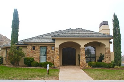 Odessa Single Family Home For Sale: 110 The Villas