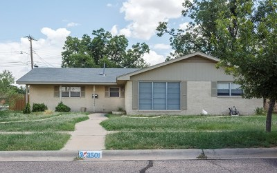 Midland Single Family Home For Sale: 3501 Camarie Ave