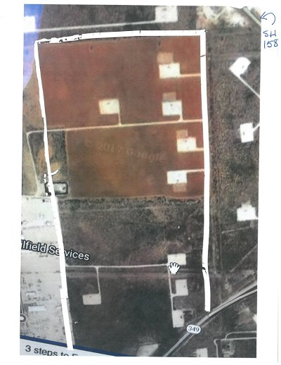 Midland Residential Lots & Land For Sale: 9801 W Hwy 158