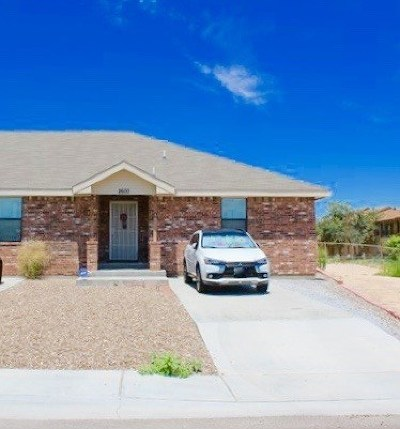 Odessa TX Single Family Home For Sale: $170,000