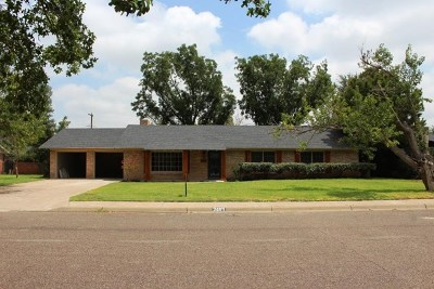 Midland Single Family Home For Sale: 2604 Hodges St