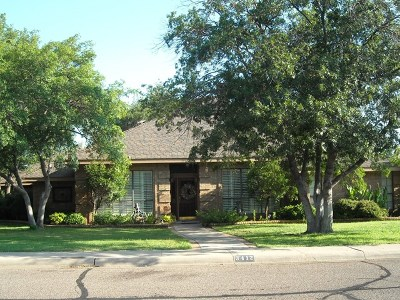 Midland Single Family Home For Sale: 3412 Meadowridge Lane