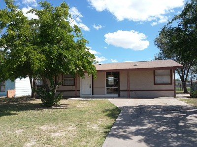 Midland TX Single Family Home For Sale: $89,000