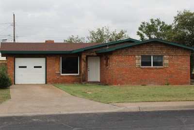 Midland Single Family Home For Sale: 4400 Erie Dr