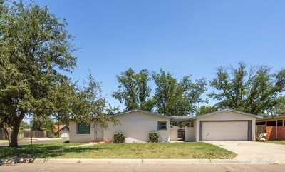 Midland TX Single Family Home For Sale: $189,900