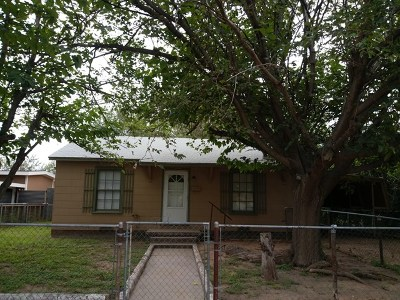 Odessa Single Family Home For Sale: 2731 Center