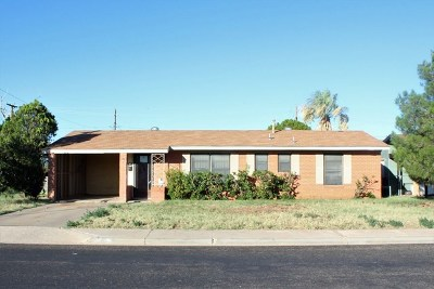 Odessa TX Single Family Home For Sale: $140,000