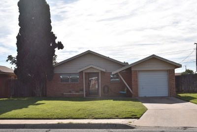 Midland TX Single Family Home For Sale: $130,000