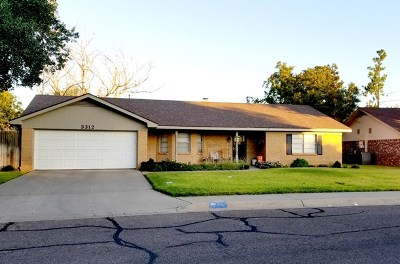 Midland Single Family Home For Sale: 3312 Providence Dr