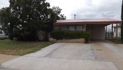 Odessa TX Single Family Home For Sale: $100,000