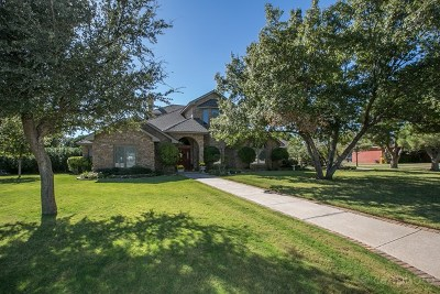 Midland Single Family Home For Sale: 6820 Island Circle