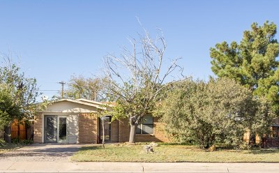 Midland TX Single Family Home For Sale: $155,000