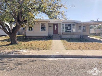 Odessa TX Single Family Home For Sale: $118,000