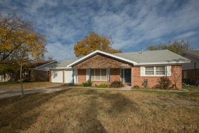 Midland Single Family Home For Sale: 3534 Imperial Ave