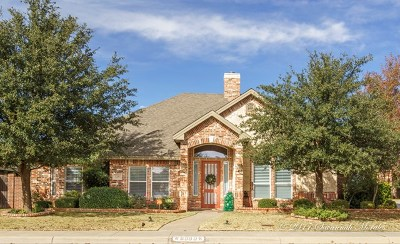 Midland Single Family Home For Sale: 3300 Marble Lane