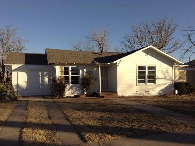 Odessa Single Family Home For Sale: 3136 Adams Ave