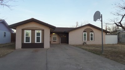 Odessa TX Single Family Home For Sale: $184,000