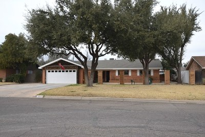 Midland Single Family Home For Sale: 2802 Fannin Ave
