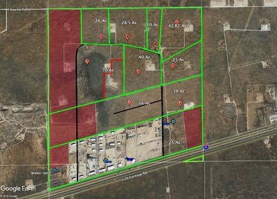 Midland TX Residential Lots & Land For Sale: $500,000