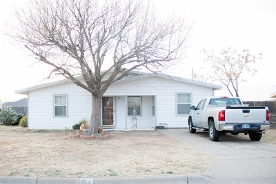Midland TX Single Family Home For Sale: $115,000