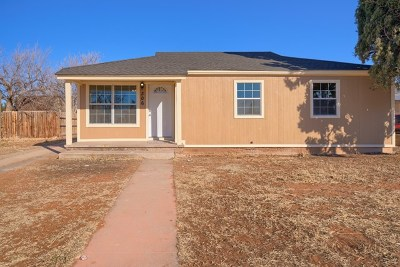 Odessa TX Single Family Home For Sale: $155,000
