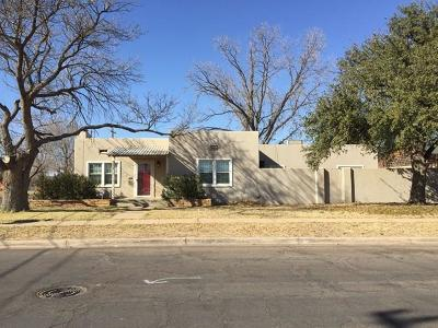 Midland Single Family Home For Sale: 910 W Tennessee Ave