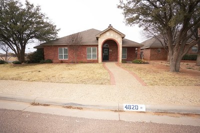 Midland Single Family Home For Sale: 4820 Rosewood Dr