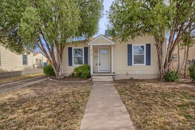 Odessa Single Family Home For Sale: 2740 Adams Ave
