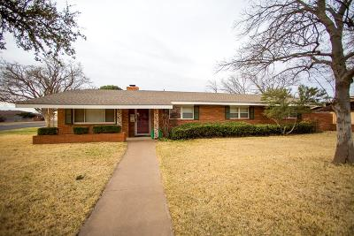 Midland TX Single Family Home For Sale: $319,000