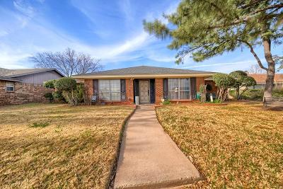 Midland Single Family Home For Sale: 4004 Crestwood Ave