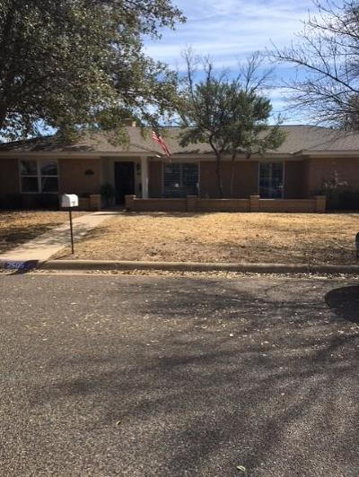 Midland Single Family Home For Sale: 2505 Stutz Place