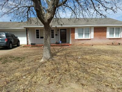 Midland Single Family Home For Sale: 2610 W Cuthbert Ave