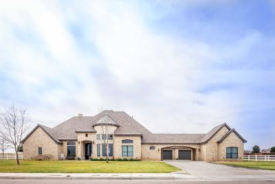 Midland Single Family Home For Sale: 6401 Saddle Horn Lane