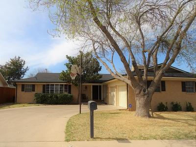 Odessa Single Family Home For Sale: 4023 Candy Lane