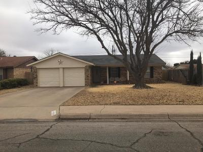 Midland TX Single Family Home For Sale: $205,900